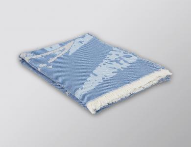 Eskimo Plaid Brissago blau/ciel