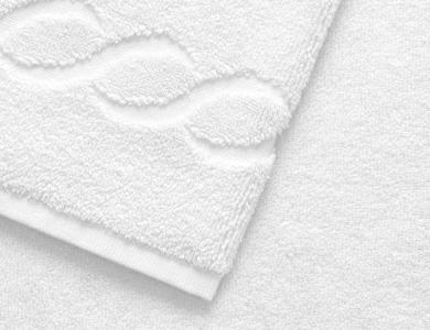 Christian Fischbacher Romance Frottier Handtuch white