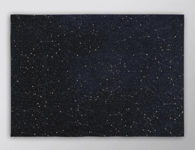 Christian Fischbacher Prêt-à-porter Teppich Celestial Night Sky
