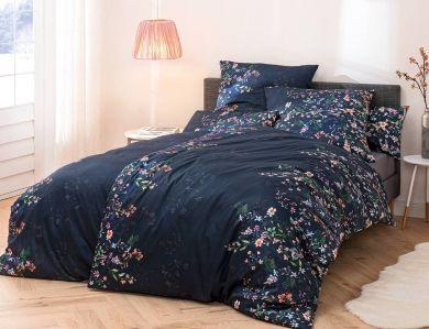 Estella Satin Bettwäsche Gabrielle nachtblau