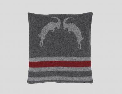 Eskimo Kissenhülle mit Füllung Grey Bock, anthrazit