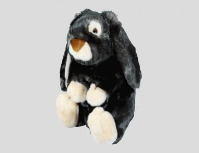 Eskimo Plüschtier Hase, anthrazit