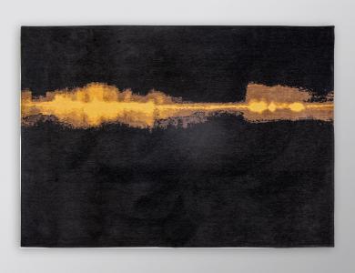 Prêt-à-porter Teppich Linares black