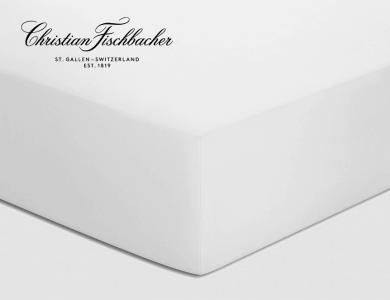 Christian Fischbacher Spannbettlaken Jersey - Weiss 010