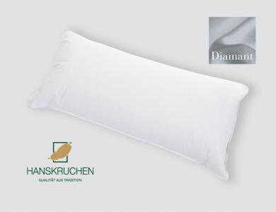 Hanskruchen 1-Kammer Daunen Kissen Diamant