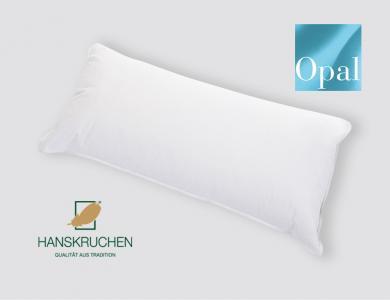 Hanskruchen 1-Kammer Daunen Kissen Opal