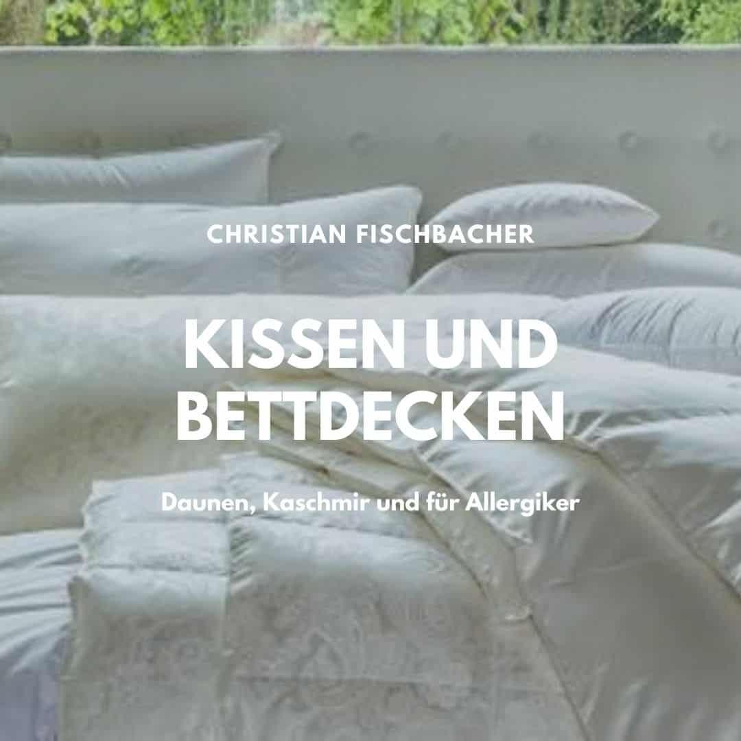 Decken und Kissen von Fischbacher